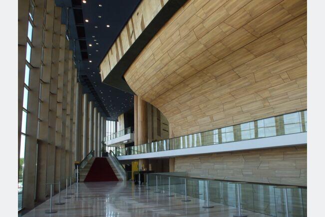 Проект: Дворец искусств Будапешт | Шпон: