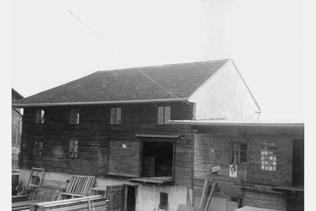 Hală vânzari Stockerau (Austria) 1950