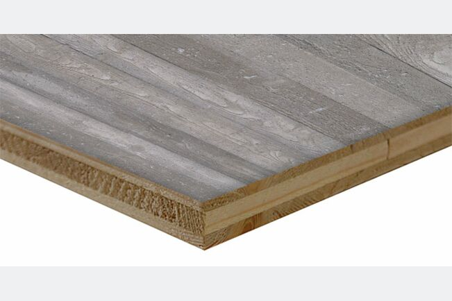 Betonschalung Holz rau