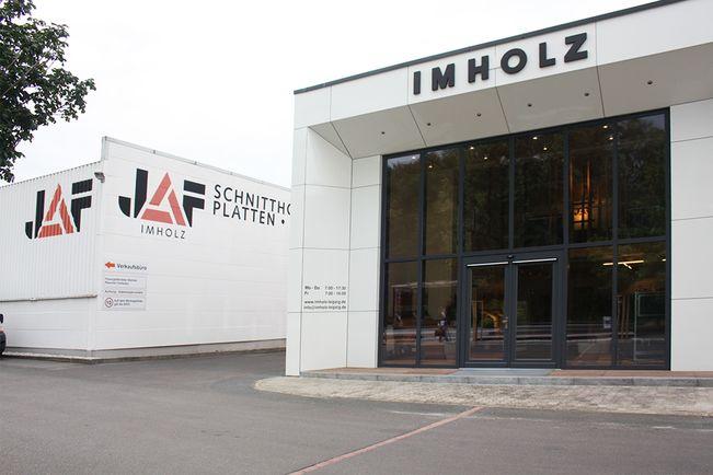 Leipzig showroom and warehouse