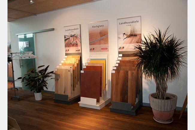 Schauraum Produktausstellung