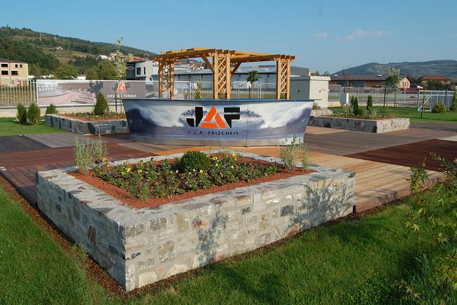 Visoko Terrassenausstellung