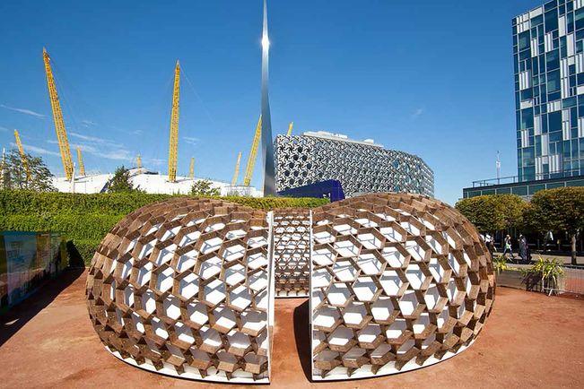Kreod Pavillon für die Olympischen Spiele, London( 2012)
