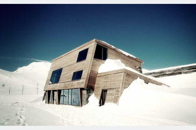 Berghütte Steinboligen in Finse, Norwegen