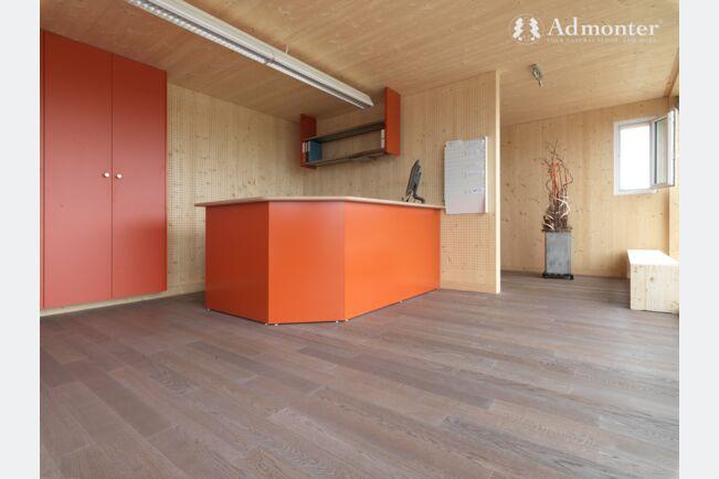 Admonter City Floor hrast Medium bijeli