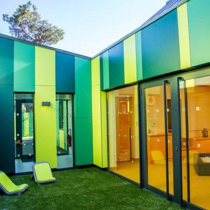 plăci compacte pentru fațade exterioare