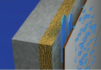 Rezistență la intemperii a fațadei exterioare