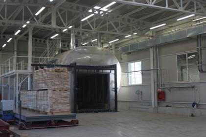 Thermal chamber (J.F.FURNIR plant in Romania)