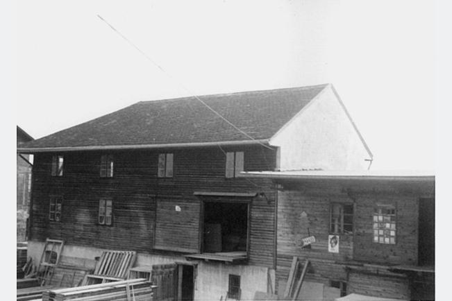 Stockerau Verkaufshalle 1950