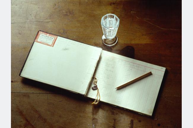 Kassabuch 40er Jahre