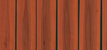 Einige Furnierbünde aus dem Stamm