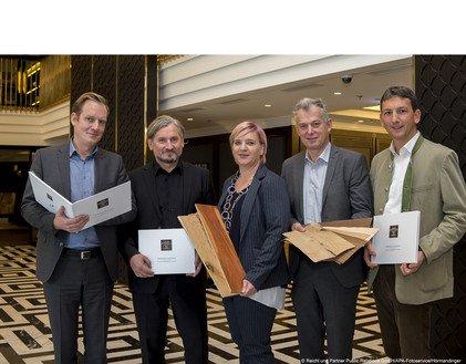 Georg Himmelstoß, Erich Gaffal, Claudia Hindinger, Gerhard Spitzbart und Alexander Flatischler.