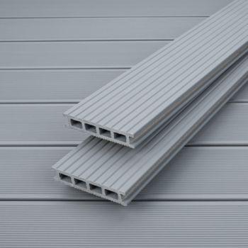 wpc terrassendiele upm profi deck pearl grey frischeis. Black Bedroom Furniture Sets. Home Design Ideas