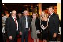 Christoph Kapeller (NL-Leiter JAF Linz), KommR Dir. Johann Sunk (Wibeba) mit Gattin Elisabeth, Moderatorin Sabine Kronberger und JAF-Geschäftsführer Werner Stix (v. l. n. r.).