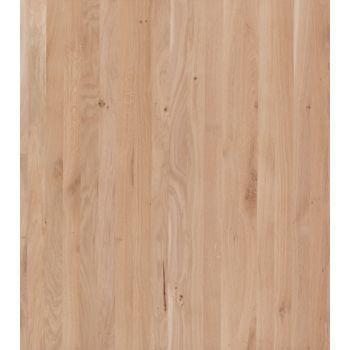 Eurowood 1 Schicht Massivholzplatte Eiche Rustikal A B