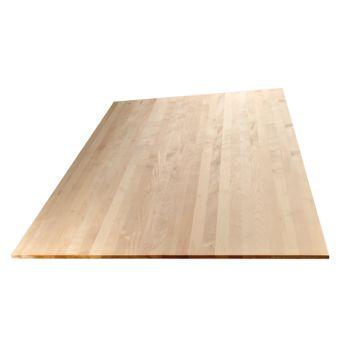 Wibeba Select 1 Schicht Massivholzplatte Ahorn A B Lamelle