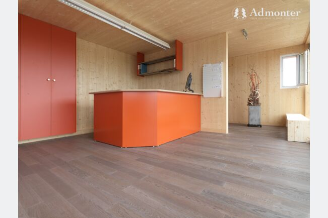 Admonter City Floor Stejar Medium Alb