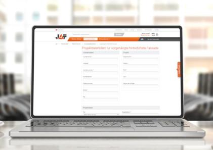 Projektdatenblatt einfach online ausfüllen