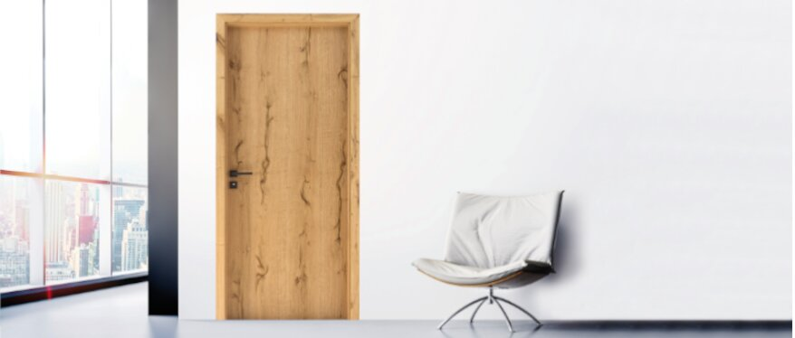 Kollektion Qualitas – furnierte Türen der Marke Eurowood