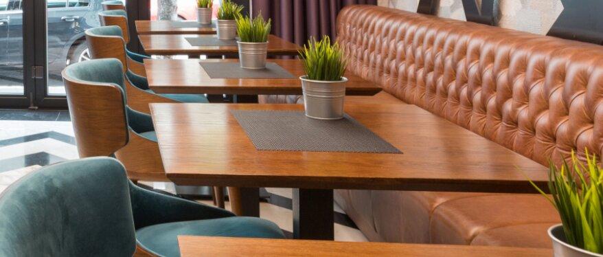 Gastro Massivholz-Tischplatten von Gmeiner