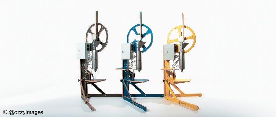 plasticpreneur Recycling Maschinen aus Sperrholz von Frischeis   © @ozzyimages