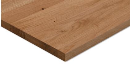 Aufbau: 1-Schicht Massivholzplatte