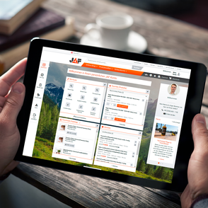 """Mit """"Funktionen im Fokus"""" stellen wir Ihnen alle Funktionen des JAF-Online-Shops und Ihres Kontos vor. Wir zeigen Ihnen, wie Sie mit wenigen Klicks zuverlässig Ihr Ziel erreichen."""