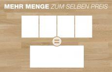 Kürzere Massivholzplatten sind bei gleichbleibender hohen Qualität deutlich günstiger erhältlich.