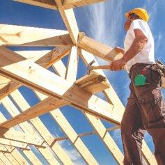 Mit dem Abbundservice unterstützt Sie JAF von der Planung bis zur Fertigung Ihrer Holzbauteile.